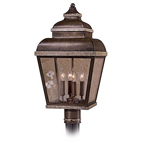 "Mossoro Collection 23 1/2"" High Outdoor Post Mounted Light"