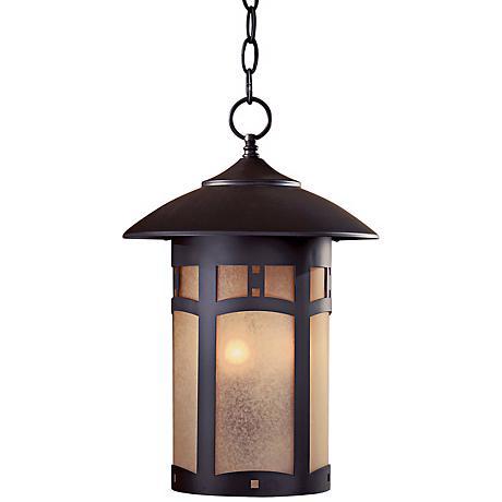 "Beacon Rhodes Collection 17"" High Outdoor Hanging Light"