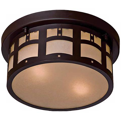 Beacon Rhodes Flush Mount Indoor - Outdoor Ceiling Light