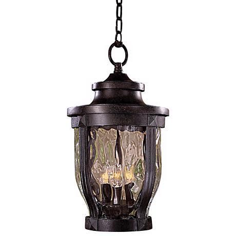 "Merrimack Collection 17 1/2"" High Outdoor Hanging Light"