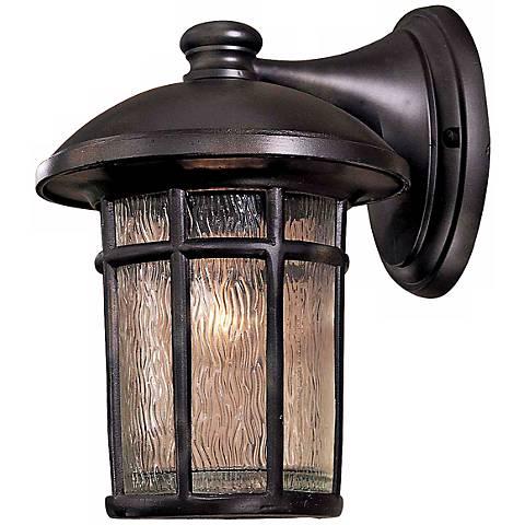 "Cranston 12 3/4"" High Heritage Finish Outdoor Wall Light"
