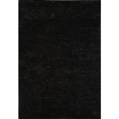 Bohemian Black Eco-Friendly Jute Area Rug