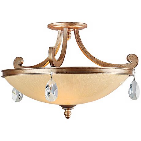 """Corbett Roma Collection 22"""" Wide Ceiling Light Fixture"""