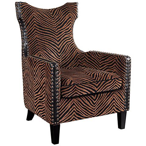 Kimoni Tall Wing Back Chair