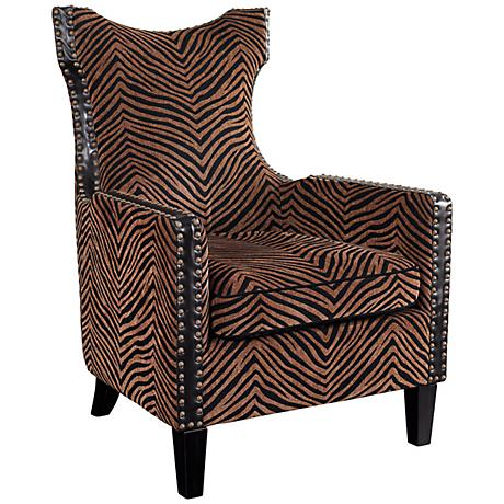 Kimoni Tall Wing Back Chair