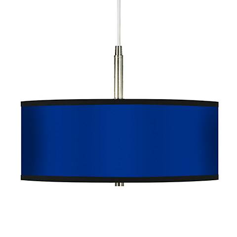 All Blue Giclee Pendant Chandelier