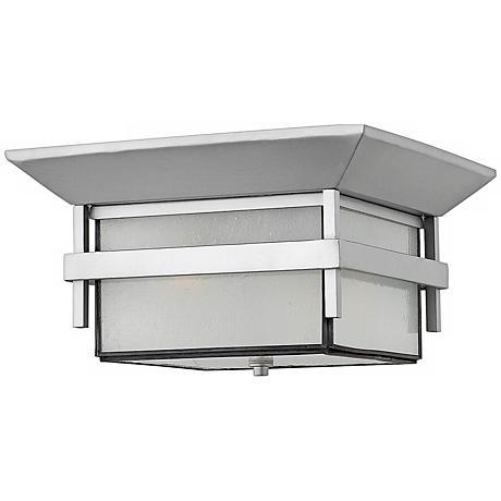 "Harbor Titanium 7 3/4"" High Hinkley Ceiling Light"