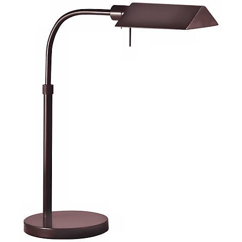 Sonneman Tenda Rose Bronze Pharmacy Desk Lamp