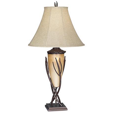 el dorado collection night light table lamp h1641 lamps plus. Black Bedroom Furniture Sets. Home Design Ideas
