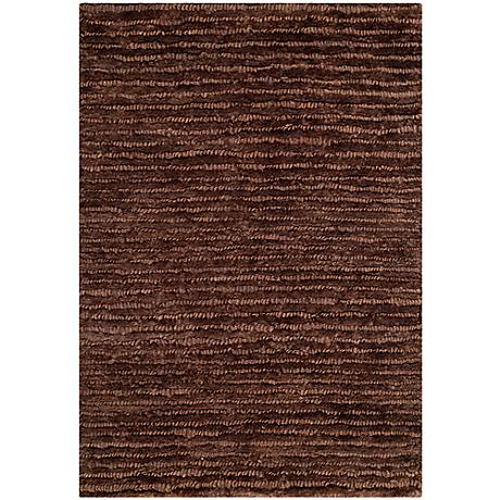 Ecogance Brown Area Rug