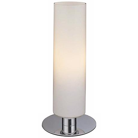 George Kovacs Energy Saving Glossy White Cylinder Table