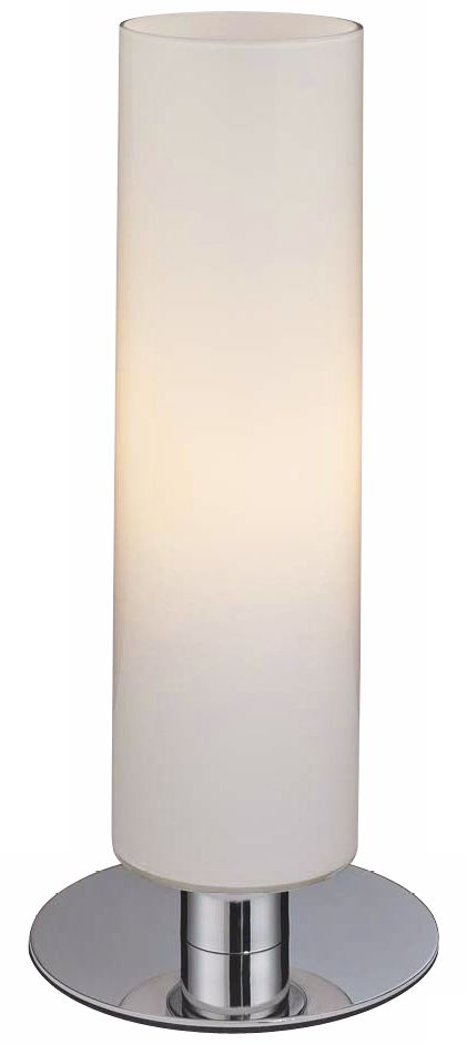 George Kovacs Energy Saving Glossy White Cylinder Table Lamp