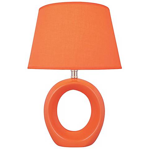 Lite Source Kito Orange Accent Table Lamp
