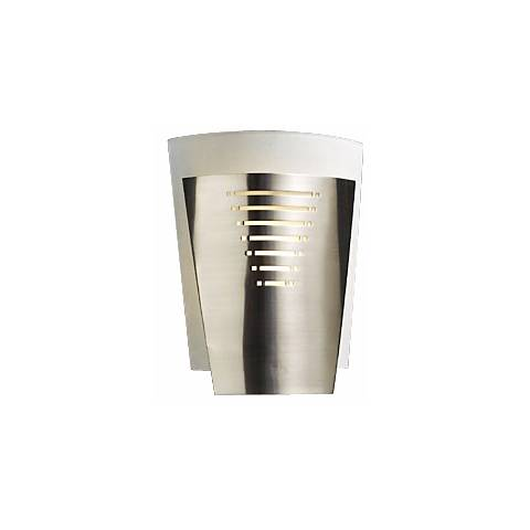 """Acid Frost Glass Deco 10 1/4"""" High ADA Wall Sconce"""