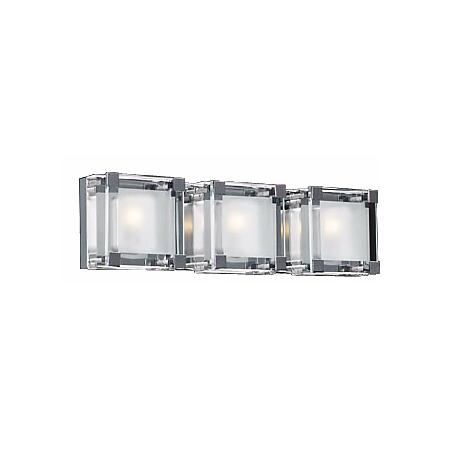 "Nice Cube Three Light 19 1/2"" Wide ADA Bathroom Light"