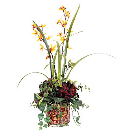 "Hydra and Kangaroo Paw 33"" High Floral Arrangement"