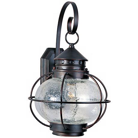 "Nautington 18"" High Outdoor Wall Lantern"