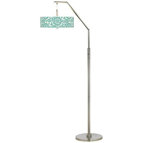 Seedling by thomaspaul Aqua Stockholm Arc Floor Lamp