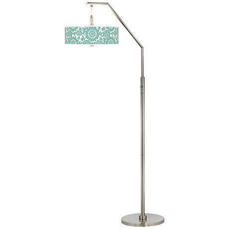 Seedling by thomaspaul Aqua Stockholm Arc Floor Lamp