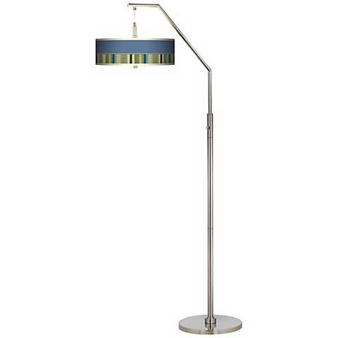 Stacy Garcia Modern Palette Giclee Arc Floor Lamp