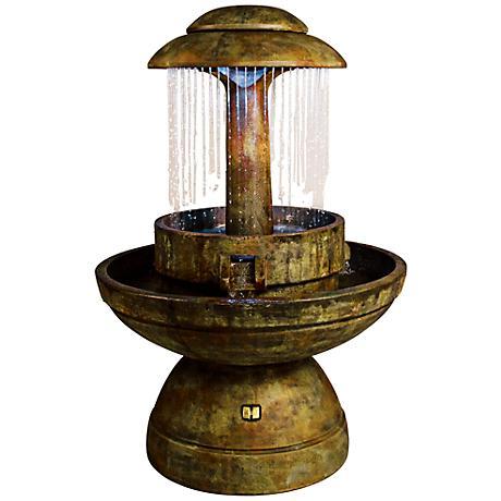 Henri Studio Relic Nebbia Ring of Diamonds Fountain