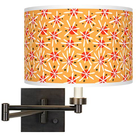 Seastar Giclee Bronze Swing Arm Wall Lamp