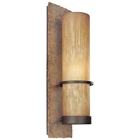 """Jabandi 19"""" High Indoor-Outdoor Wall Light"""