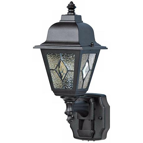Cottage Outside Wall Lights : Classic Cottage Black Motion Sensor Outdoor Wall Light - #H6925 Lamps Plus