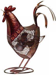 Deco Decorative Rooster Fan