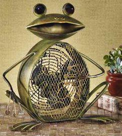 Deco Decorative Frog Fan