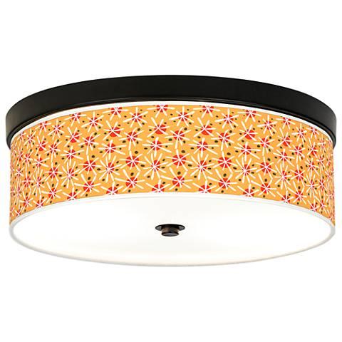 Seastar Giclee Energy Efficient Bronze Ceiling Light