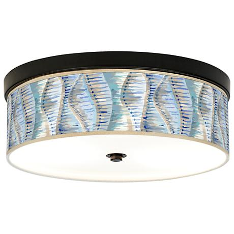 Siren Giclee Energy Efficient Bronze Ceiling Light