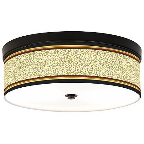 Stacy Garcia Spice Dahlia CFL Bronze Ceiling Light