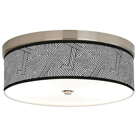 Labyrinth Giclee Energy Efficient Ceiling Light