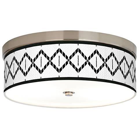 Paved Desert Giclee Energy Efficient Ceiling Light