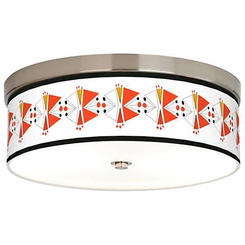 Lexiconic III Giclee Energy Efficient Ceiling Light