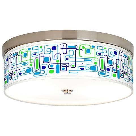 Racktrack Giclee Energy Efficient Ceiling Light