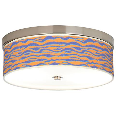 Sunset Stripes Giclee Energy Efficient Ceiling Light