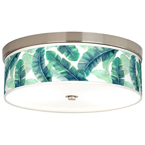 Guinea Giclee Energy Efficient Ceiling Light