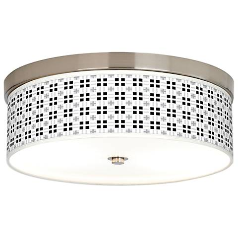 Quadrant Giclee Energy Efficient Ceiling Light