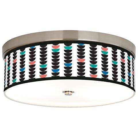 Semi-Dots Giclee Energy Efficient Ceiling Light