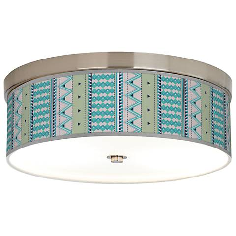 Geo Metrix Giclee Energy Efficient Ceiling Light