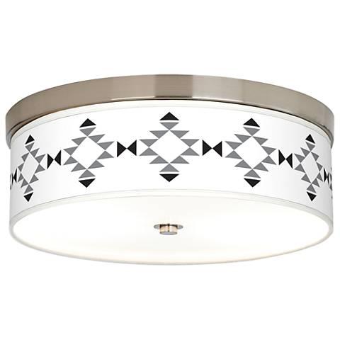 Desert Grayscale Giclee Energy Efficient Ceiling Light