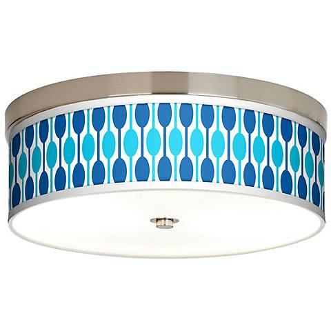 Jet Set Giclee Energy Efficient Ceiling Light