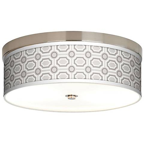 Luxe Tile Giclee Energy Efficient Ceiling Light