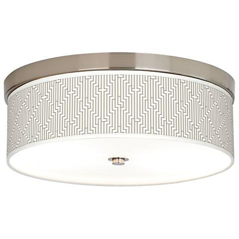 Diamond Maze Giclee Energy Efficient Ceiling Light