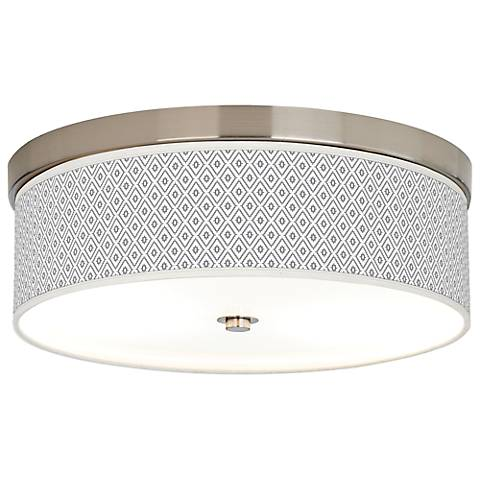 Diamonds Giclee Energy Efficient Ceiling Light