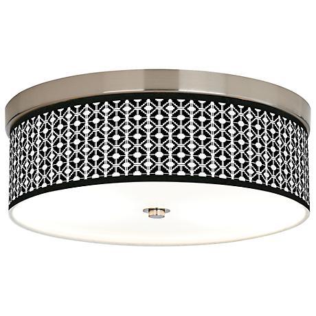 Matrix Giclee Energy Efficient Ceiling Light