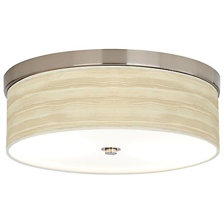 Birch Blonde Giclee Energy Efficient Ceiling Light