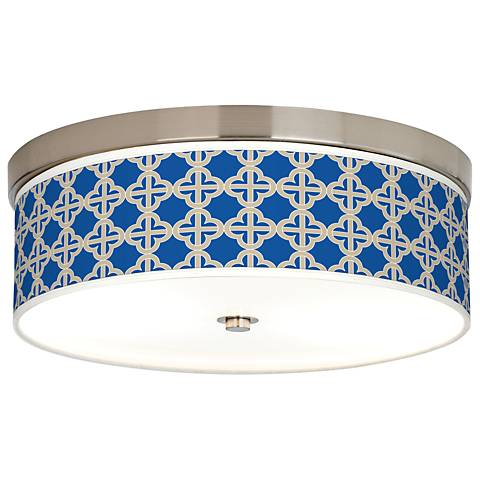 Four Corners Giclee Energy Efficient Ceiling Light